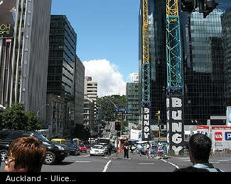 Auckland - Ulice...