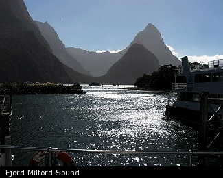 Fjord Milford Sound