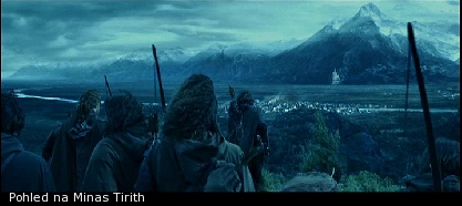 Pohled na Minas Tirith