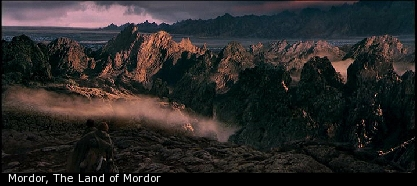 Mordor, The Land of Mordor